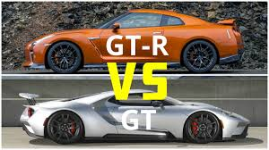Nissan Altima Gtr - 2018 ford gt vs nissan gt r youtube