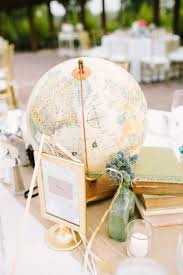 travel themed table decorations blush vintage travel themed wedding every last detail