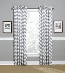 Chevron Nursery Curtains Grey And White Curtains Teawing Co