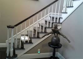 stair handrail refinishing staircase gallery