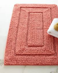Pink Bathroom Rugs And Mats Bath Rugs Designer Bath Mats Bathroom Mats At Horchow