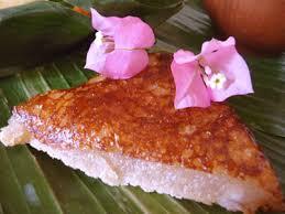cuisine tahitienne recettes vakalavalava gâteau fidjien au manioc et lait de coco la cocinera