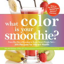 what color is your smoothie book by britt brandon nicole