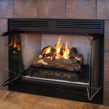 the log fireplace conversion kit hammacher schlemmer