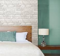amazon com grey and white brick peel and stick wallpaper home