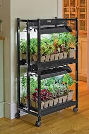 indoor vegetable garden kit gardening ideas