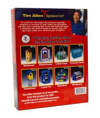 amazon com tim allen secret compartment treasure chest craft kit