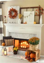 get inspired with these thanksgiving mantels from