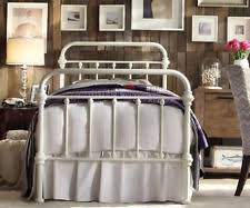 Antique Twin Headboards by Twin Iron Bed Ebay