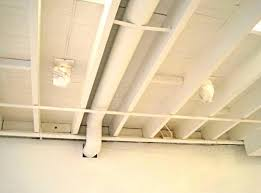 Unfinished Basement Ceiling by Elegant Interior And Furniture Layouts Pictures Unfinished