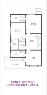 layout of a house house plan for 27 feet by 50 feet plot plot size 150 square yards