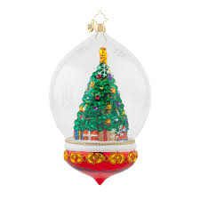 decor sblue spouty christmas ornament by christopher radko