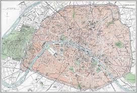 Map Of Paris France by Street Map Of Paris Circa 1879