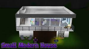 small modern house speedbuild l roblox welcome to bloxburg