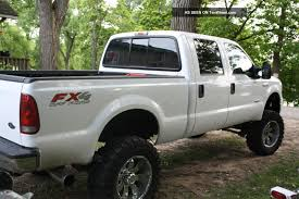 2007 F250 Lifted Lifted 2007 Ford F 250 Duty 4x4 Lariat Crew Cab Pickup 4 Door