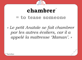 definition de chambrer pin by jeng cheng on la langue française language