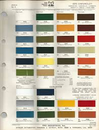 1973 chevrolet camaro chamois code 56 car paint color kit