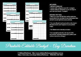 monthly budget planner template budget planner printable editable monthly budget or any zoom