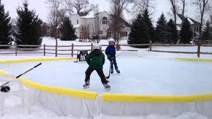 Backyard Ice Skating Rink Backyard Ice Rink Kit