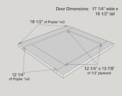 Shaker Cabinet Door Dimensions How To Build A Custom Cabinet Base For A Bookcase