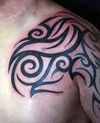 tribal chest arm tribal arm shoulder chest fresh