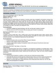Detention Officer Resume Examples Law Enforcement Resume Template Atarprod Info