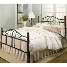 Wood And Metal Bed Frame Fashion Bed Wood And Metal Beds Doral Bed W Frame