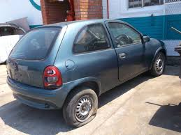 opel corsa 2004 blue east london stock team merbeda