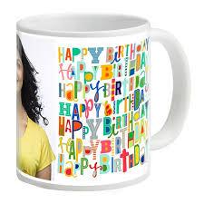 happy birthday design for mug happy birthday theme personalised mug by uc birthday gifts for