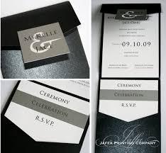 Pocket Invites 28 Pocket Invites Elegant Purple And Gray Pocket Wedding