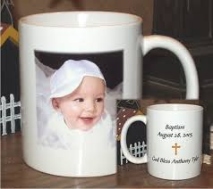 personalized baptism favors simple personalized baptism favors cups white collection