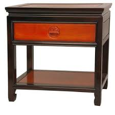 1 drawer nightstand by oriental furniture find the perfect
