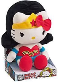 jemini kitty plush 022789 27 cm dc comics super heroes