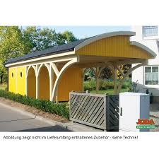 design carport holz carport mit gewölbtem stufendach design carport