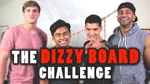 Challenge Wassabi Productions Dizzy Board Challenge Ft Fouseytube Logan Paul