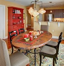 los angeles luxury table runners dining room transitional with