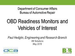 bureau of consumer affairs department of consumer affairs bureau of automotive repair obd