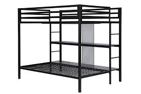 dhp furniture ultimate full over twin bunk bed with storage