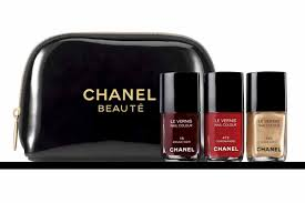 chanel u0027s nail polish trio released the front row view