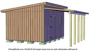 charming shed style porch roof 4 018 12x16x10 tall lean to shed