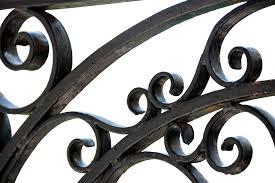 free photo metal fence wrought iron free image on pixabay