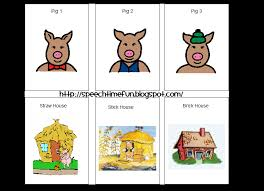 pigs activities speech therapy