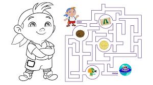 cubby u0027s marble raceway maze coloring pages disney junior