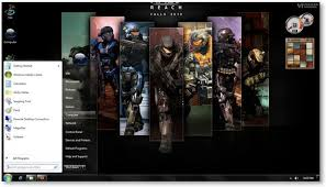 microsoft halo reach wallpapers windows 7 themes halo reach wallpapers u0026 theme game themes