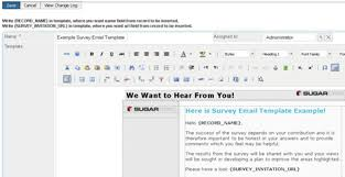 plug and play survey engine for sugarcrm pro