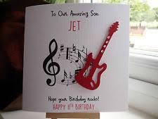 guitar birthday card ebay