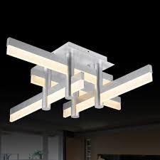 Contemporary Flush Ceiling Lights Medium Led Bar Modern Cool Lighted Flush Mount Ceiling Light