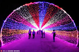 led lights shine in zhangjiakou 1 chinadaily cn