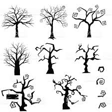 gothic trees set stock vector art 489609352 istock