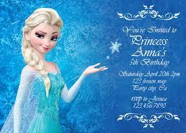 disney frozen birthday invitations u2013 frenchkitten net